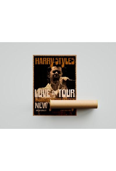 Termofom Harry Styles Retro Posteri - Harry Styles Afişleri (70X100)