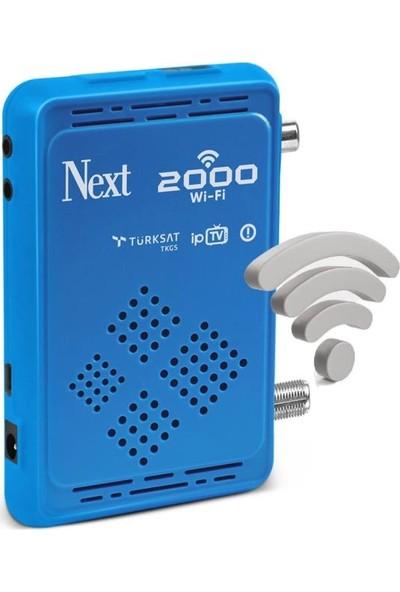 Next 2000 Wifi Çanaklı - Çanaksız Dahili Wi-Fi Full Hd Uydu Alıcı