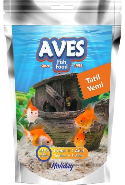 Aves Balık Tatil Yemi 5'li x 10 Adet