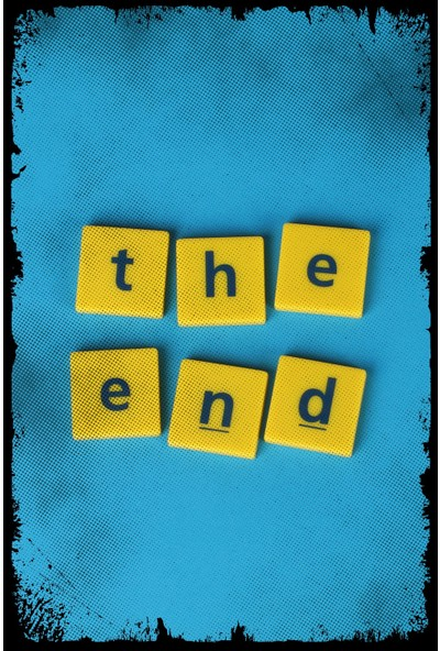 Hayal Poster The End Ahşap Poster