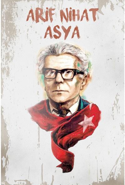 Hayal Poster Arif Nihat Asya Ahşap Poster
