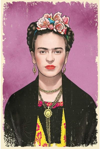 Hayal Poster Frida Kahlo Ahşap POSTER003