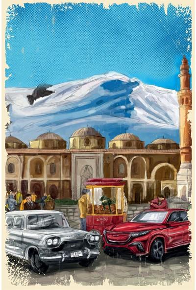Hayal Poster Devrim ve Toog Ahşap Poster