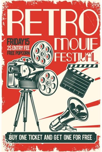 Hayal Poster Retro Movie Festival