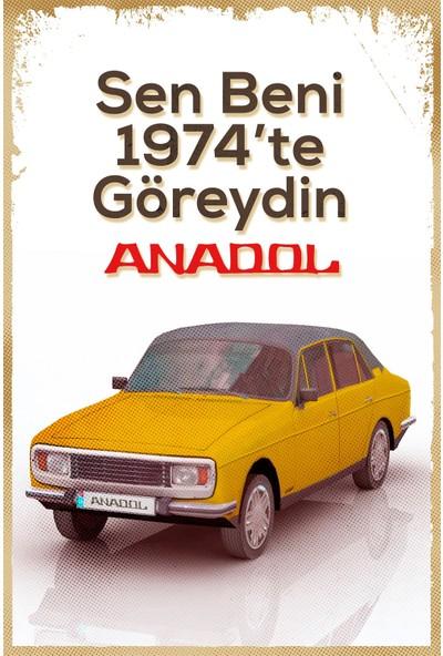Hayal Poster Anadol Sen Beni Ahşap Poster