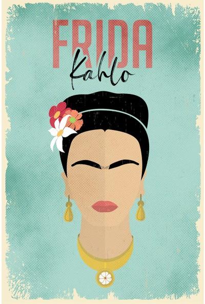 Hayal Poster Frida Kahlo Ahşap POSTER004