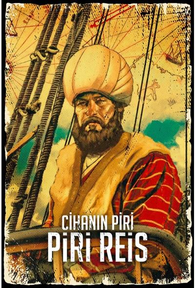 Hayal Poster Piri Reis Ahşap Poster