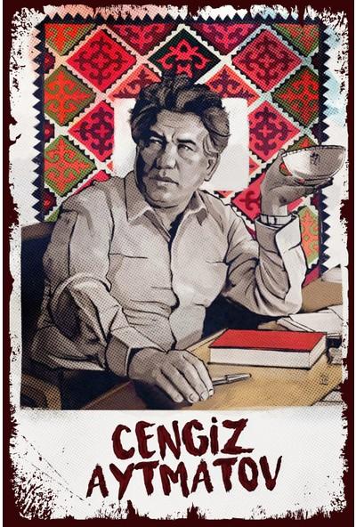 Hayal Poster Cengiz Aytmatov Ahşap Poster