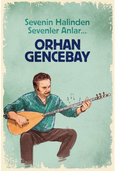 Hayal Poster Orhan Gencebay Ahşap Poster