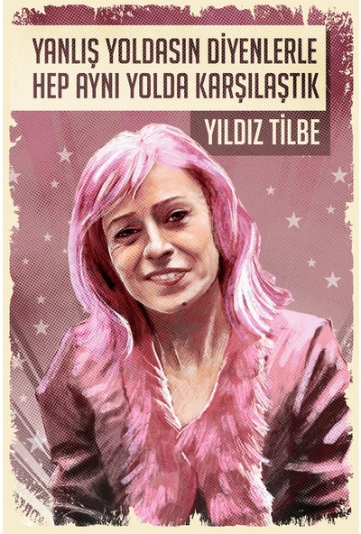 Hayal Poster Yıldız Tilbe Retro Poster
