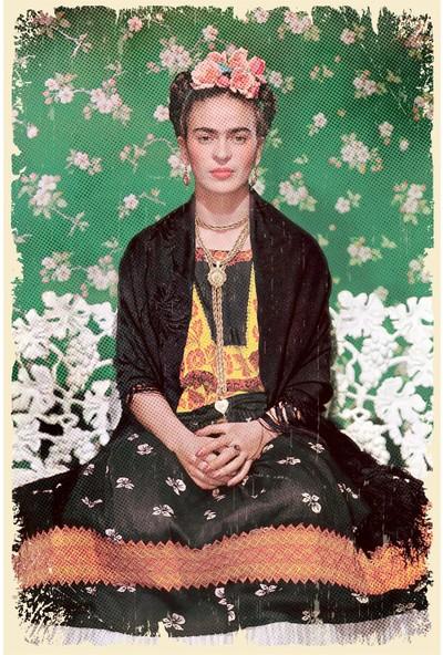 Hayal Poster Frida Kahlo Ahşap POSTER001