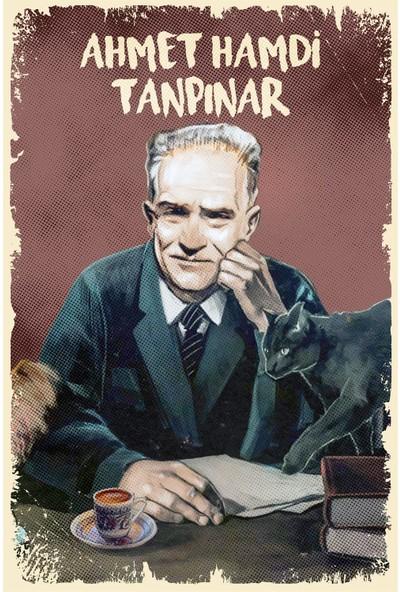 Hayal Poster Ahmet Hamdi Tanpınar Ahşap Poster