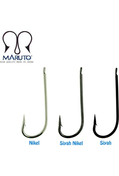 Maruto 1521 Nickel Iğne 50 Li Paket - No:1