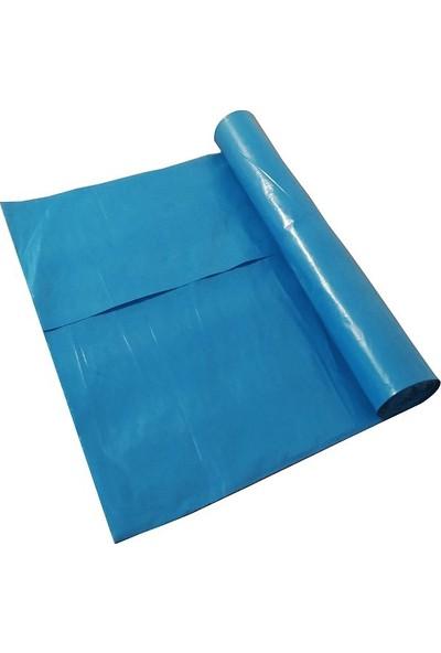 Hoşgör Plastik Çöp Torbası Poşeti Mavi Rulo 60X85 Büyük (Koli:10 RULO/100 Lü)