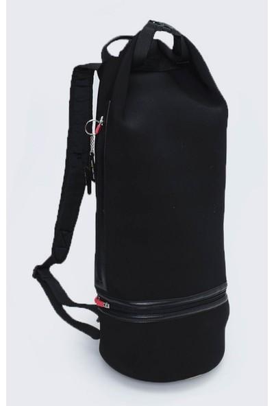 Sportssoul Neopren Unisex Sırt ve El Çantası Siyah