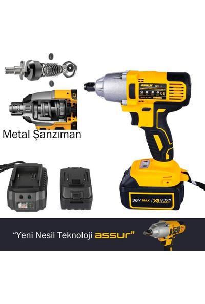 Assur Pro Metal Şanzıman Kömürsüz Somun Sıkma Makinesi