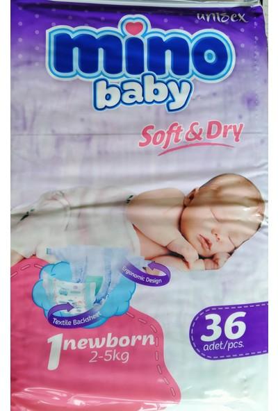 Mino Baby Bebek Bezi 1 Yeni Doğan 36 Lı