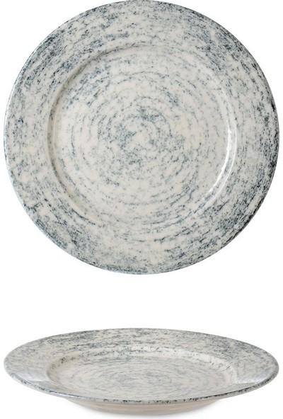 İpek Porselen Riva 6'lı Pasta Tabağı 21 cm.
