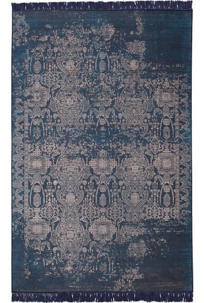 Enza Home MABEL Halı - Mavi (160 x 230 cm)