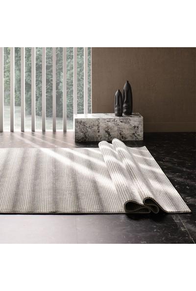 Enza Home Pagani Modern Özel Tasarım Dokuma Halı - Gri/siyah (120x180 cm)