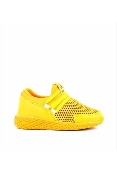 Scorx Sarı Unisex Spor Ayakkabı