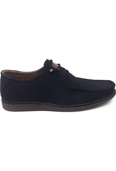 Üçlü Deri Yazlık Rahat Tam Rok Erkek Günlük Ayakkabı 40-44
