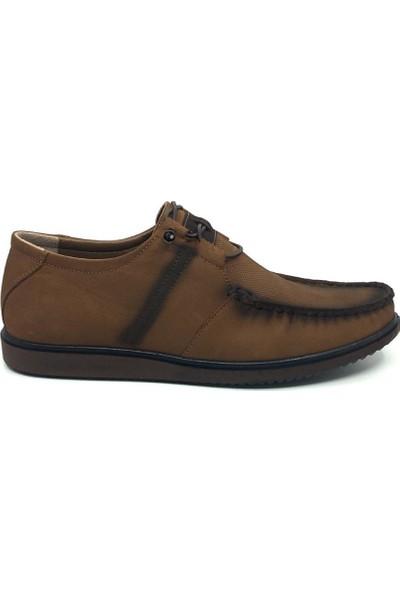 Üçlü Deri Yazlık Rahat Tam Rok Günlük Erkek Ayakkabı 40-44