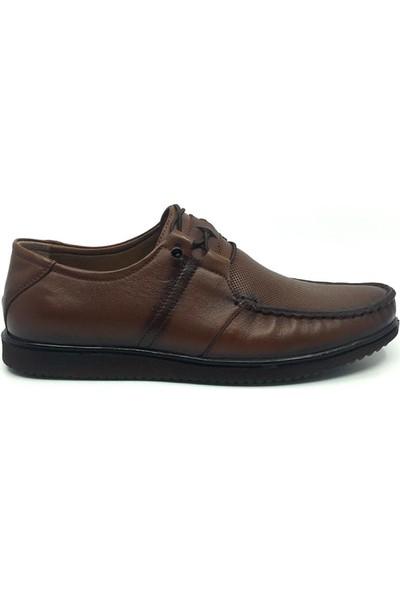 Üçlü Deri Yazlık Rahat Tam Rok Erkek Günlük Ayakkabı 39-45