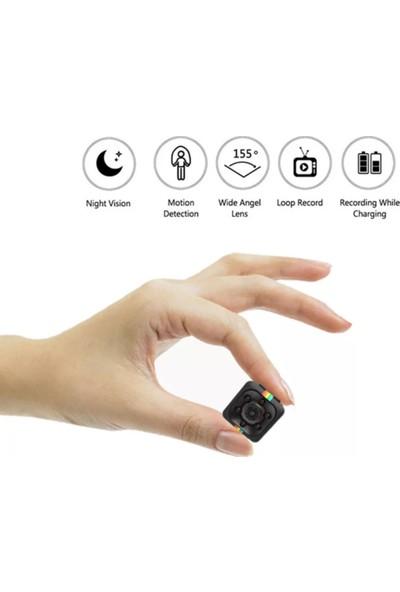 Sq11 Hareket Sensörlü, Gece Görüş Özellikli Mini Kamera