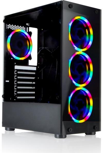 Game Case Gamecase Tropicano Powersız Gaming Oyuncu Kasası Rainbow