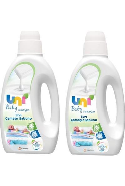 Unı Baby Sıvı Camasır Sabunu 1500 ml x 2- 12 Yıkama