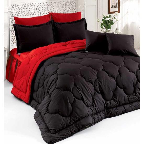 Arar Home Lux Elegant Iki Renkli Çift Kişilik Uyku Seti %100 Pamuk