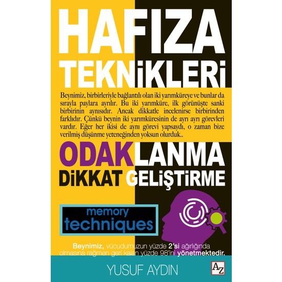 Hafıza Teknikleri - Yusuf Aydın Ekitap İndir   PDF   ePub   Mobi