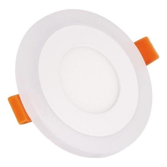 Aral 3+3 W Beyaz+Mavi Çift Renkli LED Panel Armatür