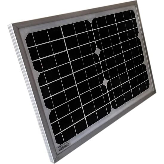 Solar 20 W Güneş Paneli Monokristal
