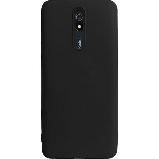 Case Markt Xiaomi Redmi 8A Silikon Telefon Kılıfı Mikro Fiber Iç Yüzey