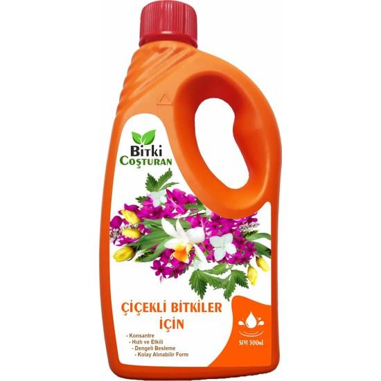 Bitki Coşturan Çiçekli Bitkiler İçin Bitki Besini Sıvı Gübre - Konsantre 500 ml