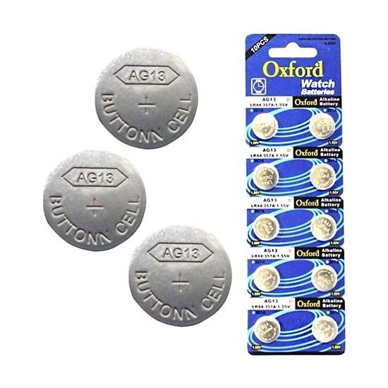 Oxford AG13 LR44 Pil 10'lu Paket Tıanqıu