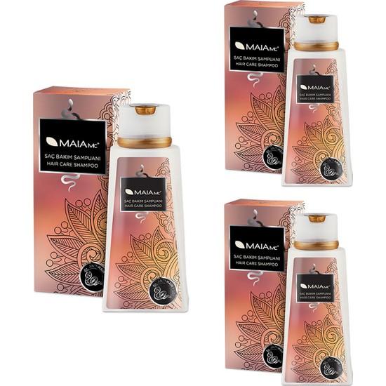 Maia Mc Saç Bakım Şampuanı 400 ml x 3 Adet