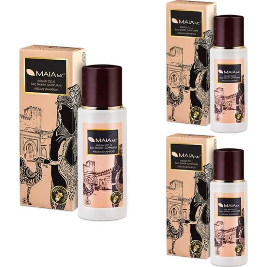 Maia Mc Argan Özlü Bakım Şampuanı 330 ml x 3 Adet
