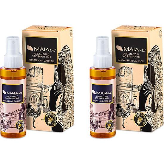 Maia Mc Argan Saç Bakım Yağı 120 ml x 2 Adet