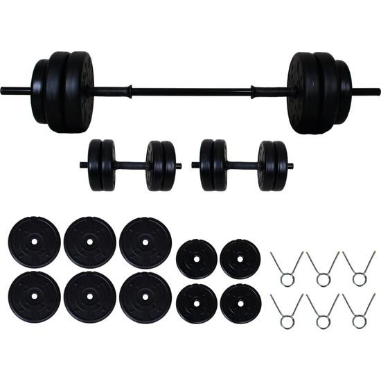 Aydın Sport 45 kg Dambıl Seti (Dumbell) Ağırlık Seti