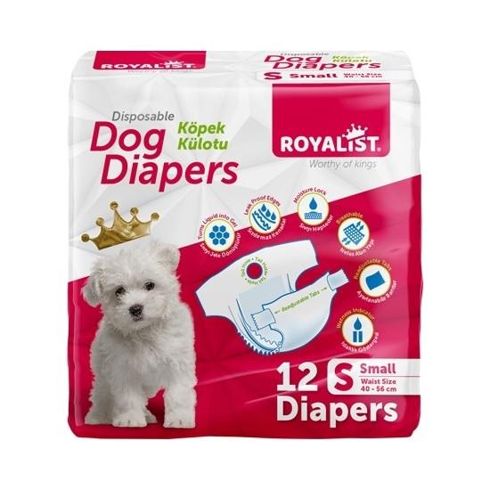 Royalıst Köpek Kilot Bez Small 12 Li