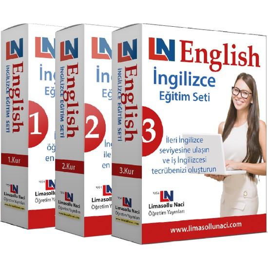 Limasollu Naci 3 Kur Bir Arada Komple İngilizce Eğitim Seti Ekitap İndir | PDF | ePub | Mobi