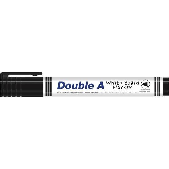 Double A Beyaz Tahta Kalemi Siyah