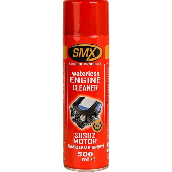 Smx Susuz Motor Yıkama Temizleme Spreyi