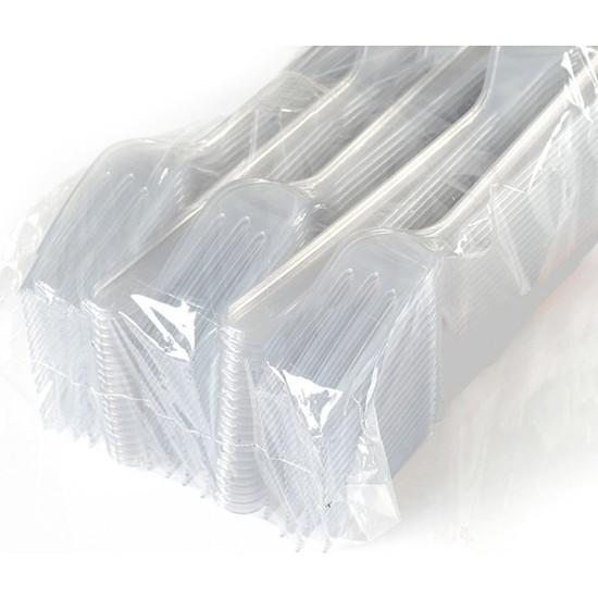 Pack Plastik Çatal 100 ' Adet