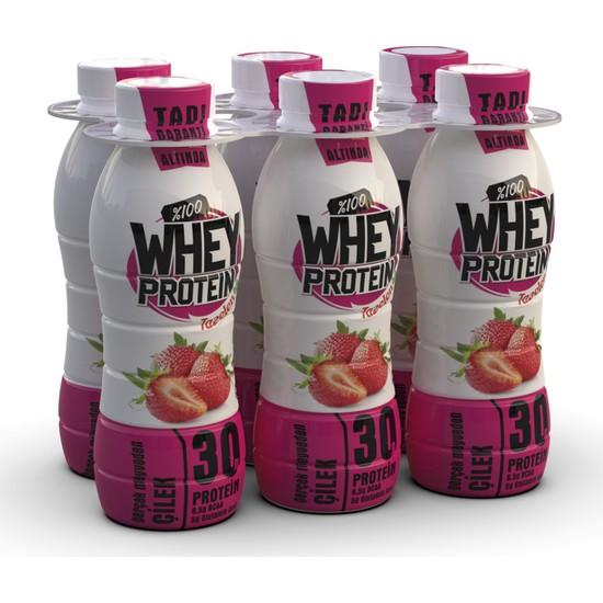 Tazelen Çilekli Whey Protein 6'lı 30 gr