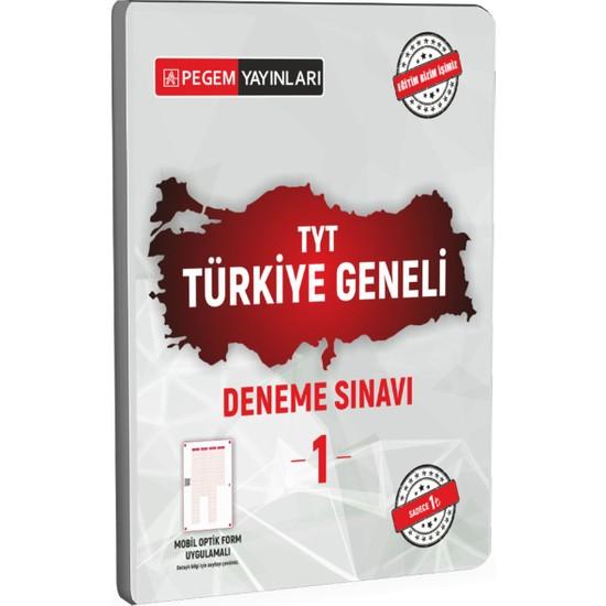 Pegem Akademi Yayıncılık TYT Türkiye Geneli Deneme Sınavı 1 Ekitap İndir | PDF | ePub | Mobi