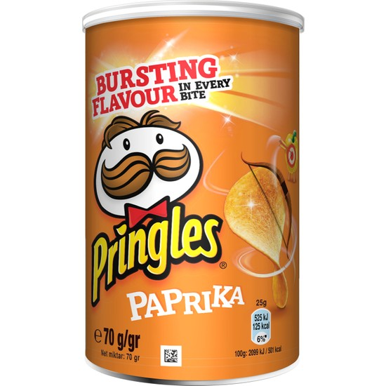Pringles Paprika 70 gr
